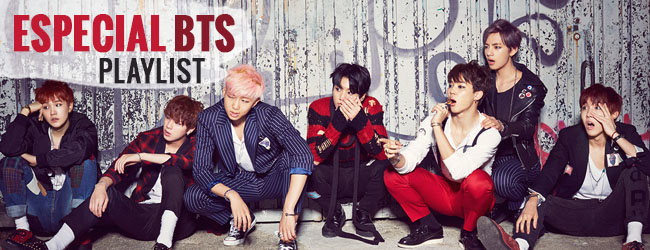 Especial BTS – Playlist